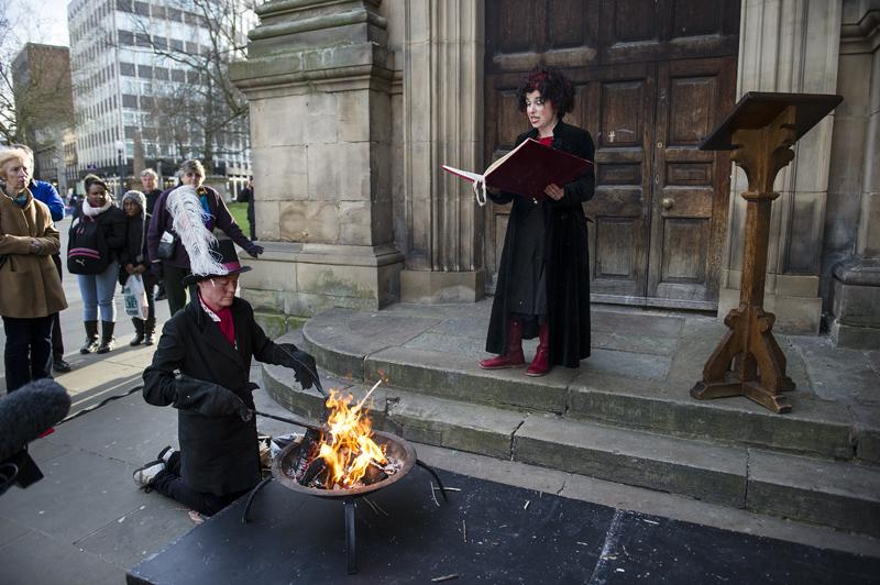 Burning the Books, Birmingham (2013).