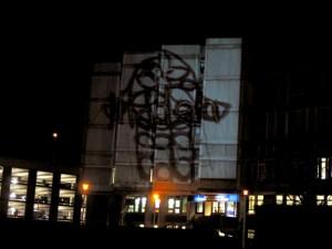 Screening of work on Croydon skyline